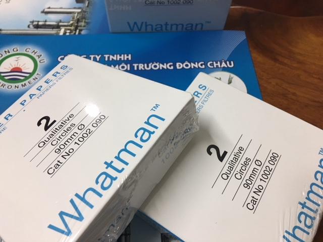 Giấy lọc Whatman số 2, 1002-090, lọc cặn hóa chất